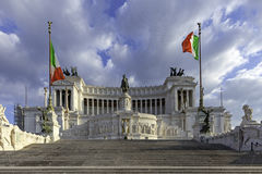 Piazza Monument to Victor Emanuel II, Rome Stock Photos