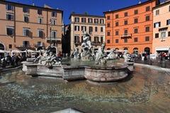 Piazza Navona Images libres de droits