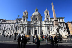 Piazza Navona Royalty Free Stock Images