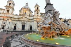 Piazza Navona Obraz Royalty Free
