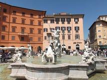 Piazza Navona royalty-vrije stock foto's