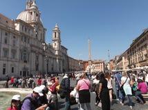 Piazza Navona obrazy stock
