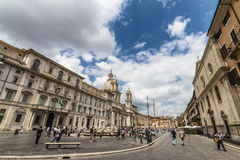 Piazza Navona Royaltyfri Bild
