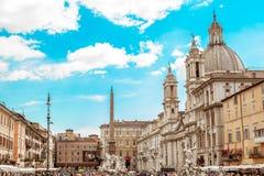 Piazza Navona Photographie stock libre de droits