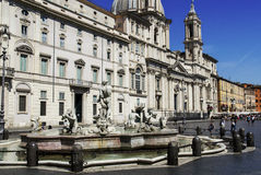 Piazza Navona Photo stock