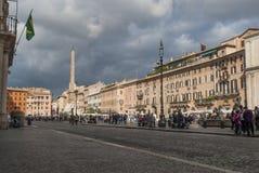 Piazza Navona Arkivbilder