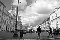 Piazza Navona Arkivfoto