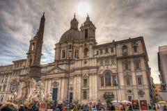 Piazza Navona Fotografia Stock Libera da Diritti