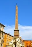 Piazza Navona Arkivfoton
