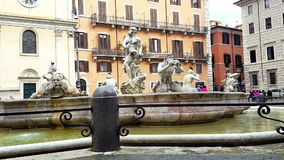 Piazza Navona stock video
