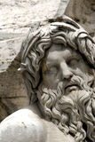 Piazza Navona. Fontana dei Quattro Fiumi in Piazza Navona Royalty Free Stock Image
