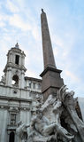 Piazza navona Stock Photos