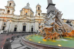 Piazza Navona Royalty Free Stock Image