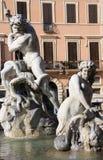 Piazza Navona (Navona Square) - Rome Stock Photo