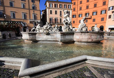 Piazza Navona (Navona Square) - Rome Stock Photography
