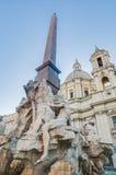 Piazza Navona (Navona Square) in Rome, Italy Royalty Free Stock Photos