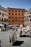 Piazza Navona, Roma Fotografia Stock Libera da Diritti