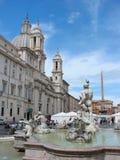 Piazza Navona, Roma Fotografia Stock