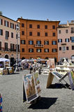 Piazza Navona ,Rome Royalty Free Stock Photo