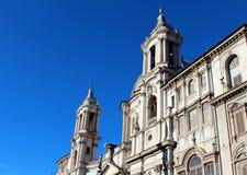Piazza Navona, Rome. Fotografering för Bildbyråer