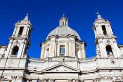 Piazza Navona, Rome. Royaltyfri Bild