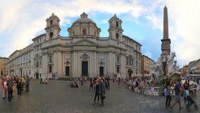 Piazza Navona Rome Stock Foto's