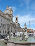 Piazza Navona, Rome Photo stock