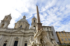 Piazza Navona - Rome Stock Photo