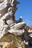Piazza Navona, Rome Royalty Free Stock Photography