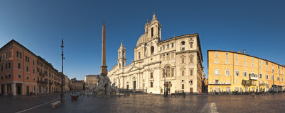 Piazza Navona, Rome Royalty Free Stock Photos