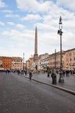 Piazza Navona, Rome, Italië Royalty-vrije Stock Afbeelding
