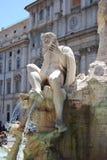 Piazza Navona, Rome Italië Royalty-vrije Stock Afbeeldingen