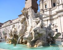 Piazza Navona, Rome, Italy Stock Photos