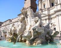 Piazza Navona, Rome, Italy Stock Photos