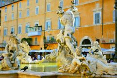 Piazza Navona, Rome, Italy Royalty Free Stock Images