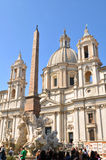 Piazza Navona, Rome (Italy) Royalty Free Stock Photography