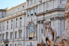 Piazza Navona, Rome Italy Stock Image