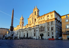 Piazza Navona, Rome. Italy Royalty Free Stock Image