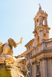Piazza Navona in Rome Royalty Free Stock Images