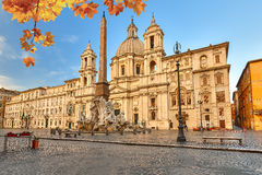 Piazza Navona in Rome Royalty Free Stock Image