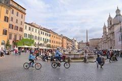 Piazza Navona - Rome, Italy Stock Photo