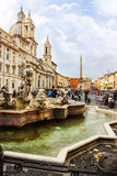 Piazza Navona in Rome (Italy) Royalty Free Stock Image