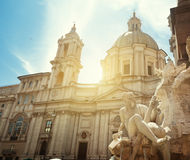 Piazza Navona, Rome. Italy Royalty Free Stock Photos