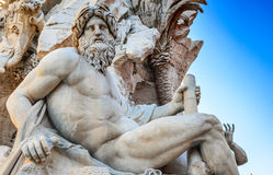 Piazza Navona, Rome in Italy Royalty Free Stock Photography
