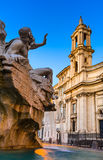 Piazza Navona, Rome, Italy Stock Photography