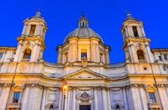 Piazza Navona, Rome, Italy stock photography