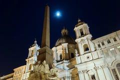 Piazza Navona, Rome, Italy Royalty Free Stock Photography