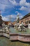 Piazza Navona, Rome Italy Royalty Free Stock Image