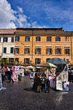 Piazza Navona in Rome Italy Stock Photos