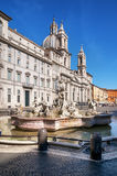 Piazza Navona, Rome - Italy Stock Images